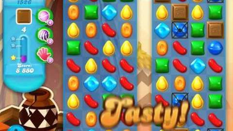 Candy Crush Soda Saga Level 1526 (buffed, 3 Stars)