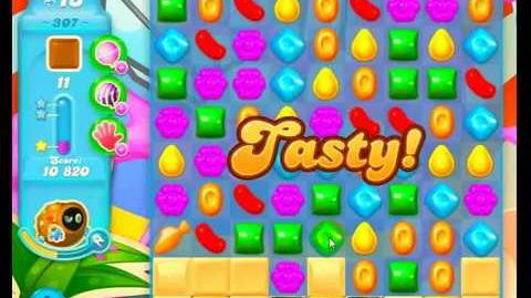 Candy Crush Friends Group Soda Level 307 NO BOOSTERS 1Stars