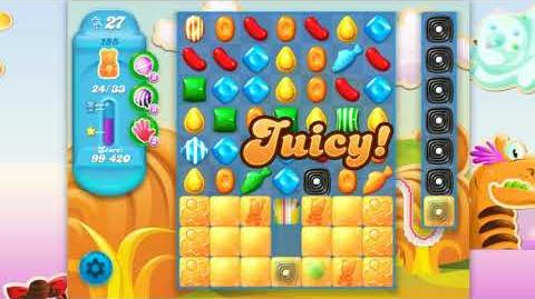 Candy Crush Soda Saga - Level 155 - No boosters