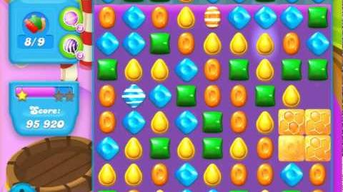 Candy Crush Soda Saga Level 125 (3rd version, 3 Stars)