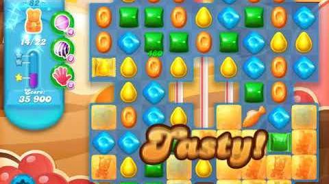 Candy Crush Soda Saga Level 82 (4th version, 3 Stars)