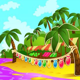 BonBon Beach background