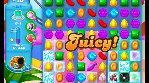 Candy Crush Friends Group SODA Level 315 NO BOOSTERS 3Stars