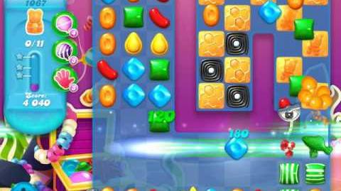 Candy Crush Soda Saga Level 1067 (5th version, 3 Stars)