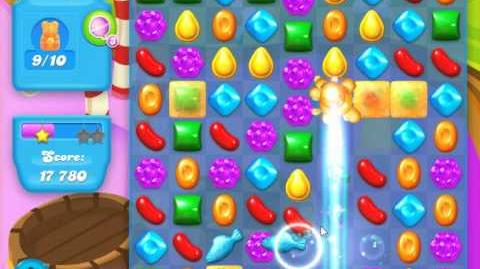 Candy Crush Soda Saga Level 123 (2nd version, 3 Stars)