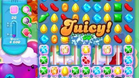 Candy Crush Soda Saga Level 1721 (3 Stars)