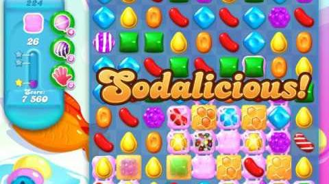 Candy Crush Soda Saga Level 224 (2nd nerfed)