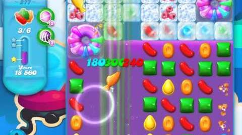 Candy Crush Soda Saga Level 277 (2nd nerfed, 3 Stars)