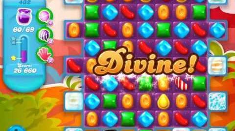 Candy Crush Soda Saga Level 432 (4th version, 3 Stars)