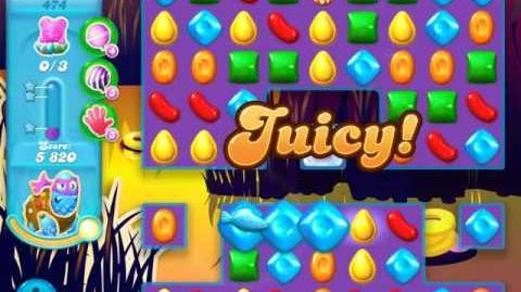 Candy Crush Soda Saga Level 474 (2nd nerfed, 3 Stars)