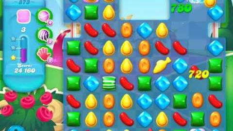 Candy Crush Soda Saga Level 873 (3 Stars)