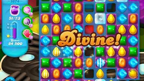 Candy Crush Soda Saga Level 1674 (5th version, 3 Stars)