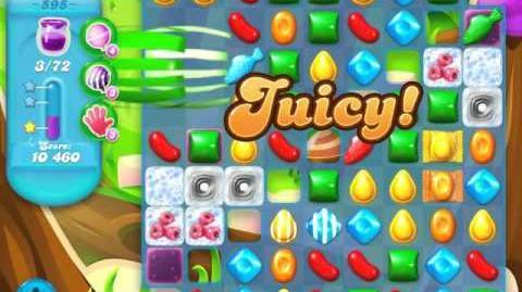 Candy Crush Soda Saga Level 595 (5th version, 3 Stars)