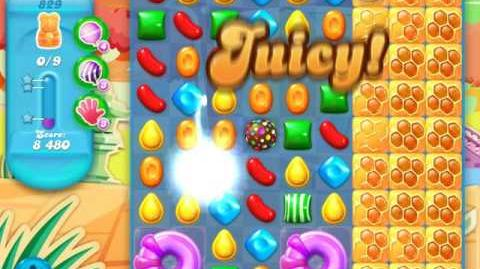 Candy Crush Soda Saga Level 829 (2nd nerfed)
