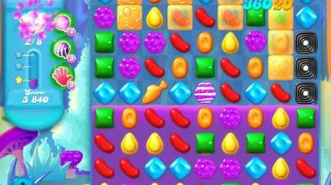 Candy Crush Soda Saga Level 141 (2nd nerfed, 3 Stars)