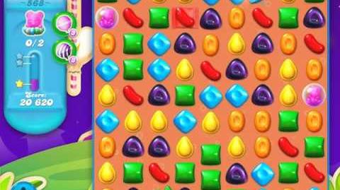 Candy Crush Soda Saga Level 568 (3 Stars)