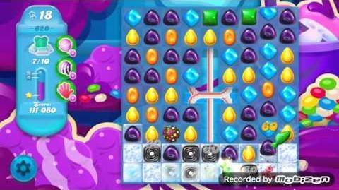 Candy Crush Soda Saga Level 620 (nerfed)