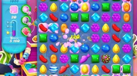 Candy Crush Soda Saga Level 1066 (nerfed, 3 Stars)