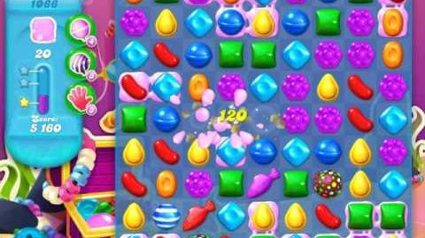 Candy Crush Soda Saga Level 1066 (nerfed, 3 Stars)
