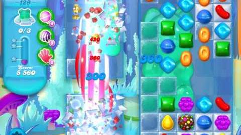Candy Crush Soda Saga Level 129 (4th version)