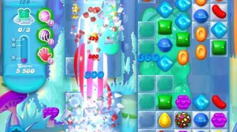 Candy Crush Soda Saga Level 129 (4th version)