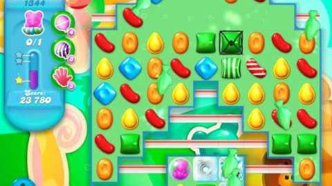 Candy Crush Soda Saga Level 1344 (2nd nerfed)