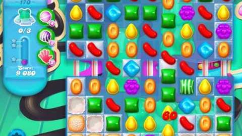 Candy Crush Soda Saga Level 170 (5th version, 3 Stars)