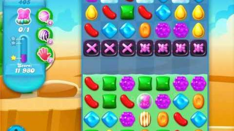 Candy Crush Soda Saga Level 405 (6th version, 3 Stars)