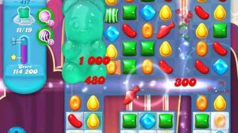 Candy Crush Soda Saga Level 417 (3 Stars)