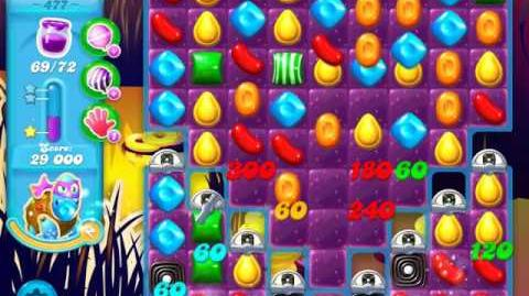 Candy Crush Soda Saga Level 477 (6th version, 3 Stars)