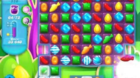 Candy Crush Soda Saga Level 520