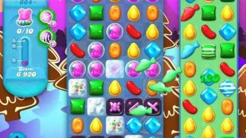 Candy Crush Soda Saga Level 664 (3 Stars)