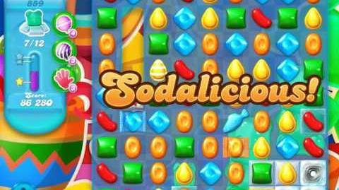 Candy Crush Soda Saga Level 859 (buffed)