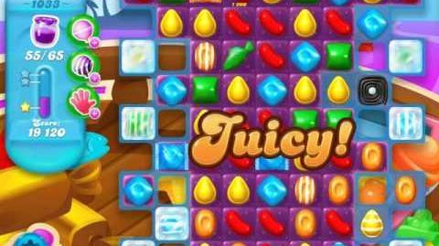 Candy Crush Soda Saga Level 1033 (nerfed, 3 Stars)