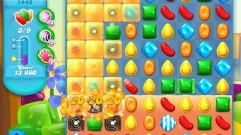 Candy Crush Soda Saga Level 1445 (nerfed)