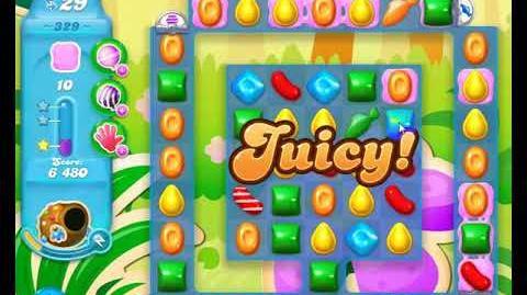 Candy Crush Friends Group SODA Level 329 3Stars 1st Update 291017