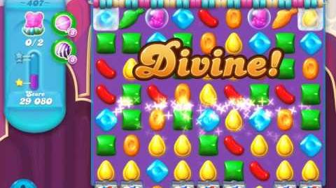 Candy Crush Soda Saga Level 407 (3 Stars)