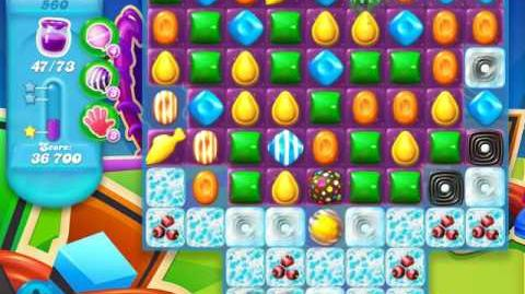 Candy Crush Soda Saga Level 560 (3rd version, 3 Stars)