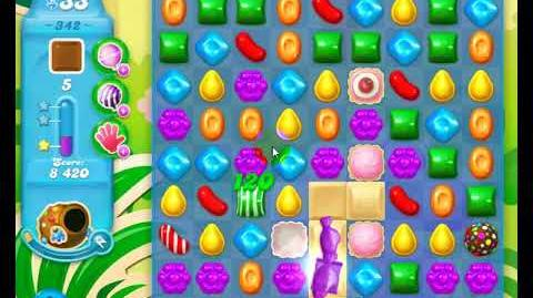 Candy Crush Friends Group SODA Level 342 3Stars 1st Update 291017