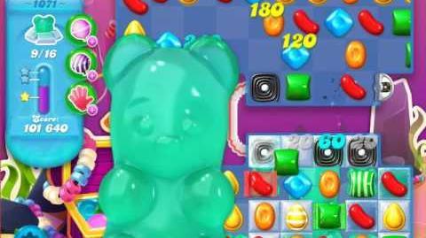 Candy Crush Soda Saga Level 1071 (3 Stars)