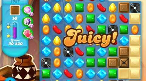 Candy Crush Soda Saga Level 1537 (3rd version, 3 Stars)