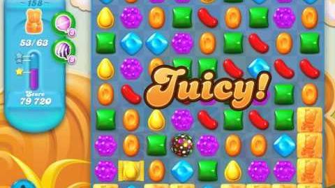 Candy Crush Soda Saga Level 158 (6th version, 3 Stars)