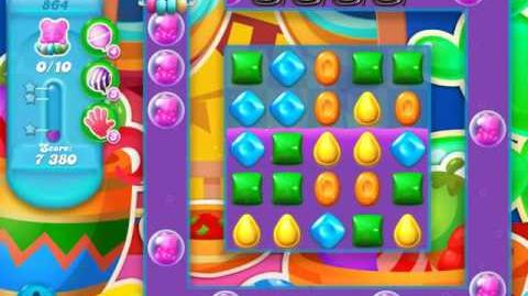 Candy Crush Soda Saga Level 864 (2nd buffed)