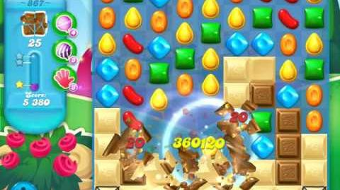 Candy Crush Soda Saga Level 867 (3 Stars)