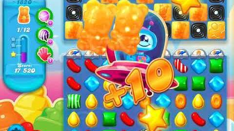 Candy Crush Soda Saga Level 1820 (3 Stars)