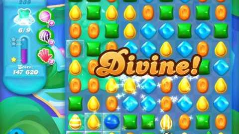Candy Crush Soda Saga Level 239 (nerfed, 3 Stars)