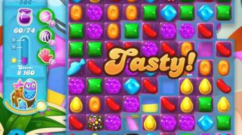 Candy Crush Soda Saga Level 306 (nerfed, 3 Stars)