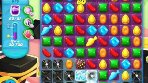 Candy Crush Soda Saga Level 975 (buffed, 3 Stars)