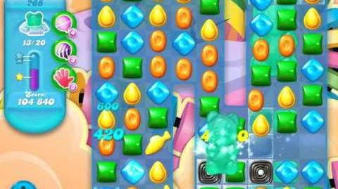 Candy Crush Soda Saga Level 765 (5th version, 3 Stars) (20 bears)
