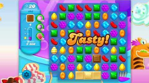 Candy Crush Soda Saga - Level 196 - No boosters ☆☆☆